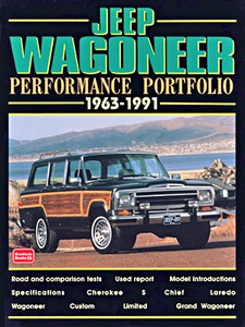 Livre : Jeep Wagoneer 1963-1991 - Brooklands Performance Portfolio