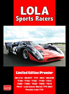 Boek: Lola Sports Racers - Brooklands Portfolio