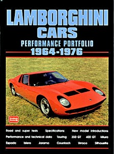 Boek: Lamborghini Cars (1964-1976) - Brooklands Performance Portfolio
