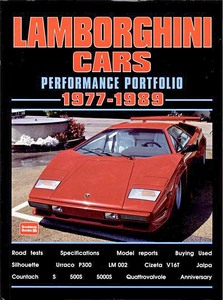 Boek: Lamborghini Cars (1977-1989) - Brooklands Performance Portfolio
