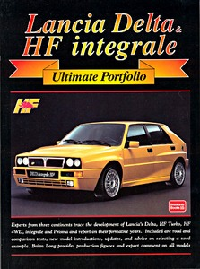 Boek: Lancia Delta & HF integrale - Brooklands Ultimate Portfolio