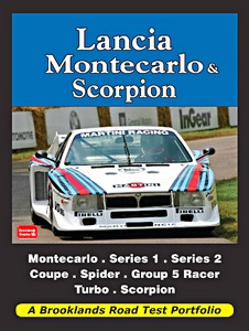 Boek: Lancia Montecarlo & Scorpion (1975-1982) - Brooklands Road Test Portfolio