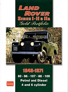 Livre : Land Rover Series I - II & IIA (1948-1971) - Brooklands Gold Portfolio