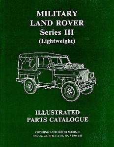 Boek: Land Rover Military Series 3 (Lightweight) - Official Parts Catalogue