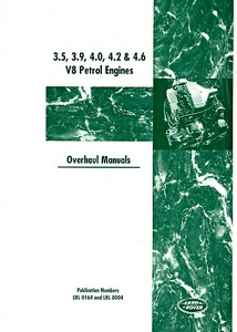 Livre : Land Rover V8 Petrol Engines Overhaul Manual - 3.5, 3.9, 4.0, 4.2 & 4.6 Litres