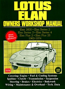 Boek: Lotus Elan (1962-1974) - Owners Workshop Manual