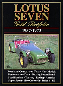 Boek: Lotus Seven (1957-1973) - Brooklands Gold Portfolio