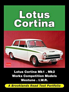 Boek: Lotus Cortina Mk1 and Mk2 - Brooklands Road Test Portfolio