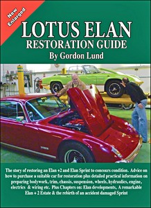 Boek: Lotus Elan Restoration Guide - Brooklands Portfolio