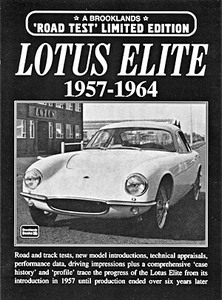 Boek: Lotus Elite (1957-1964) - Brooklands Portfolio
