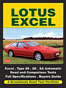 Boek: Lotus Excel (1982-1992) - Brooklands Road Test Portfolio