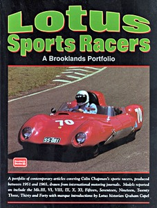 Boek : Lotus Sports Racers (1951-1965) - Brooklands Portfolio