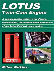 Boek: Lotus Twin Cam Engines - A comprehensive guide to the design, development, restoration and maintenance