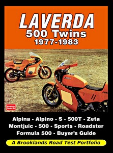 Livre : Laverda 500 Twins (1977-1983) - Brooklands Road Test Portfolio