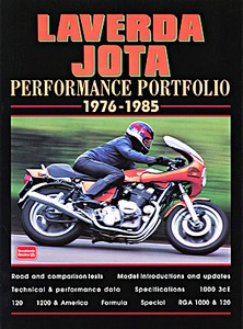 Livre : Laverda Jota (1976-1985) - Brooklands Performance Portfolio