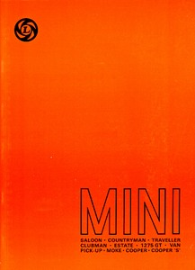 Boek: Mini (1959-1976) - Official Workshop Manual