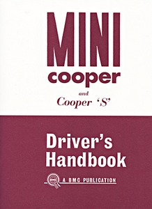 Boek: Mini Cooper and Cooper S Mk I - Official Driver's Handbook