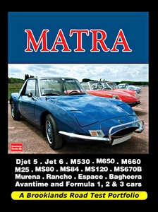 Boek: Matra - Brooklands Road Test Portfolio
