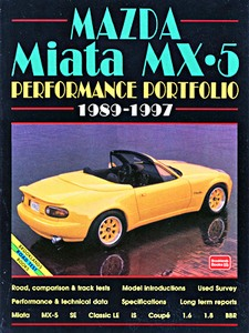 Boek: Mazda Miata MX-5 (1989-1997) - Brooklands Performance Portfolio
