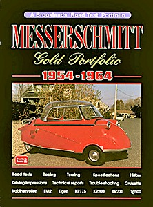 Boek: Messerschmitt (1954-1964) - Brooklands Gold Portfolio