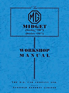 Boek: MG Midget Series TD and Series TF - Official Workshop Manual