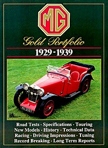 Boek: MG (1929-1939) - Brooklands Gold Portfolio