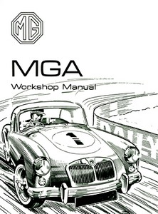 Boek: MG MGA 1500, 1600 & Mk 2 (1955-1962) - Official Workshop Manual (Soft Cover)
