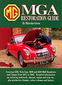 Boek: MGA Restoration Guide (Soft Cover)