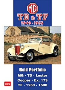 Boek: MG TD & TF (1949-1955) - Brooklands Gold Portfolio