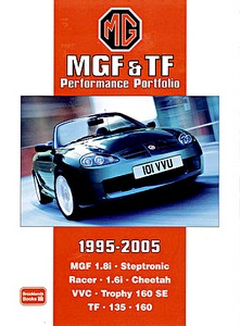 Boek: MGF & TF (1995-2005) - Brooklands Performance Portfolio