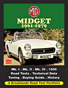 Boek: MG Midget (1961-1979) - Brooklands Road Test Portfolio