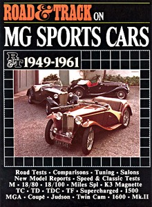 Boek: MG Sports Cars (1949-1961) - Road & Track Portfolio