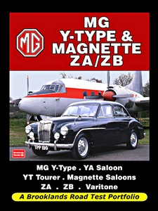 Boek: MG Y-Type & Magnette ZA/ZB - Brooklands Road Test Portfolio