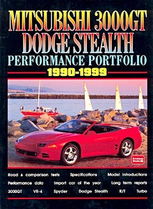 Boek: Mitsubishi 3000GT & Dodge Stealth (1990-1999) - Brooklands Performance Portfolio