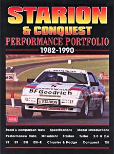 Boek: Starion & Conquest (1982-1990) - Brooklands Performance Portfolio
