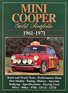 Boek: Mini Cooper (1961-1971) - Brooklands Gold Portfolio