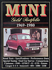 Boek: Mini (1969-1980) - Brooklands Gold Portfolio