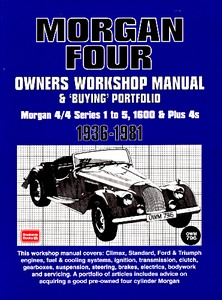 Boek: Morgan Four (1936-1981) & Buying Portfolio - Owners Workshop Manual