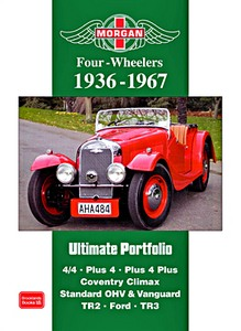Boek: Morgan Four-Wheelers (1936-1967) - Brooklands Ultimate Portfolio