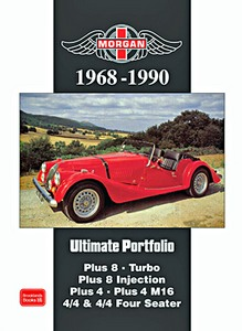 Boek: Morgan (1968-1990) - Brooklands Ultimate Portfolio