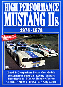 Boek: High Performance Mustang II (1974-1978) - Brooklands Portfolio