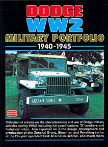 Boek: Dodge WW2 (1940-1945) - Brooklands Military Portfolio
