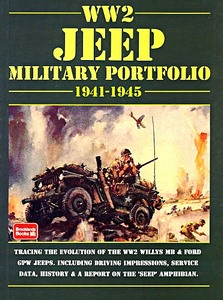 Boek: WW2 Jeep (1941-1945) - Brooklands Military Portfolio