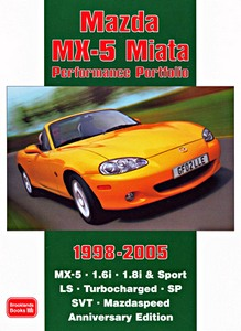 Boek: Mazda MX-5 Miata (1998-2005) - Brooklands Performance Portfolio