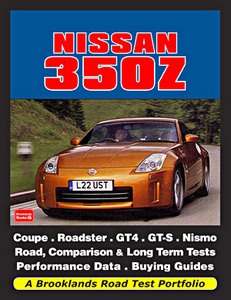 Boek: Nissan 350Z - Brooklands Road Test Portfolio