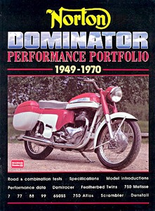 Livre : Norton Dominator (1949-1970) - Brooklands Performance Portfolio