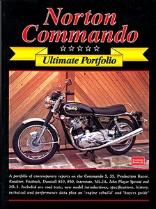 Livre : Norton Commando - Brooklands Ultimate Portfolio