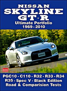 Boek: Nissan Skyline GT-R (1969-2010) - Brooklands Ultimate Portfolio