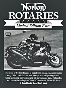 Livre : Norton Rotaries - Brooklands Portfolio