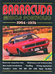 Boek: Barracuda (1964-1974) - Brooklands Muscle Portfolio